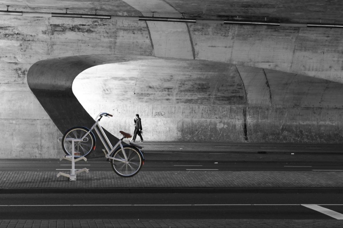 Bike sharing docking